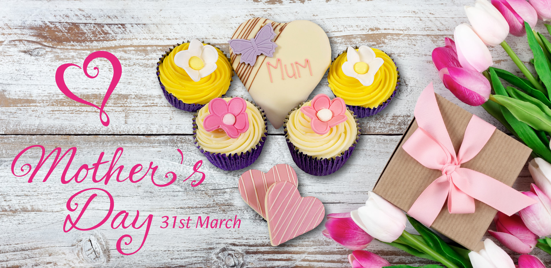Mother's Day - 31st March