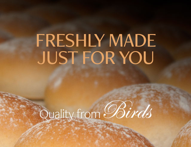 Freshly baked bread made just for you